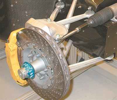 """Some high performance rotors employed by OEMs feature an exotic disc construction formula such as carbon fiber-infused material. The point is that not all rotors are simply made of """"cast iron."""""""
