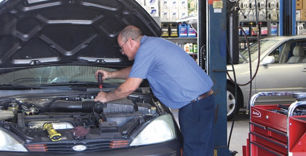 The E&M shop boasts two highly qualified ASE Master Techs and one general service technician.