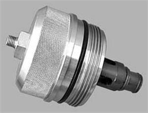 Oil filter pressure cap.