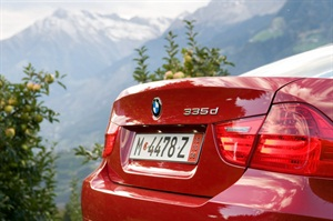 A DEF warning on the BMW diesel may occur prior to the scheduled engine oil change interval.