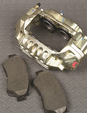 Rather than attempting to rebuild worn/failed/sticking calipers, replace with new or remanufactured. Often loaded calipers are available that include pads, but depending on the vehicle application, severe duty pads may be required in the case of towing, heavy-duty or emergency vehicle applications. All photos by Mike Mavrigian