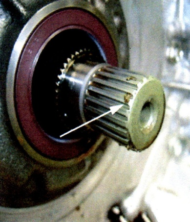 Look for signs of clutch particles/debris.