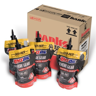 Banks Power is offering its new differential cover bundled with Amsoil Severe Gear Synthetic Gear Lube easy-packs.