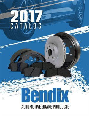 The catalog includes key information about the features and benefits of the Bendix Fleet Metlok, Bendix Premium, and Stop by Bendix brake product lines.