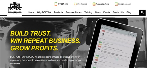 Bolt On's new website is designed to put the repair shop owner in the driver's seat with a full array of helpful user-focused content including easier access to the company's full range of products, peer success stories, training programs and calendar of events.