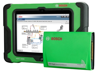 The Bosch ESI[truck] has thousands of new coverage additions aimed to save technicians time.