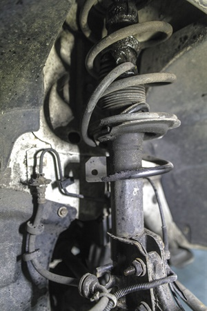 """CUSTOMER: """"There's this big clunk when I turn left, is my car unsafe?"""" Diagnosing ride control issues is relatively straightforward, but newly hired technicians may not know these tips of the trade. This article addresses common suspension component inspections, offering expert advice based on our experience as well as pertinent information from parts suppliers. We've been there, done that! Learn from our experience."""