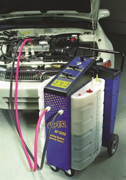 Automatic flushing machines make cooling system maintenance simple enough that a master technician can be assigned to another job that requires his skills. Units such as Clore's Viper AF-3250 have drain, flush, backflush and fill capabilities.