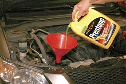 Always refill with the type of coolant recommended by the automaker. Using the proper coolant will extend the life of alloy components and surfaces in the cooling system.
