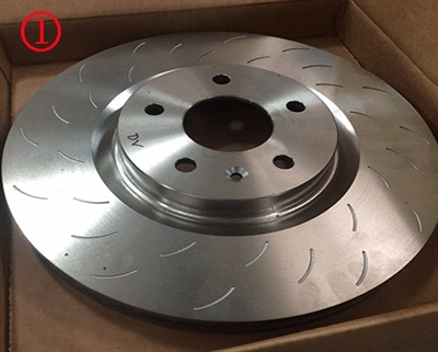 New front rotor one-piece.