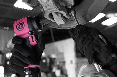 The limited-edition tool release anchors Chicago Pneumatic's efforts in breast cancer research.