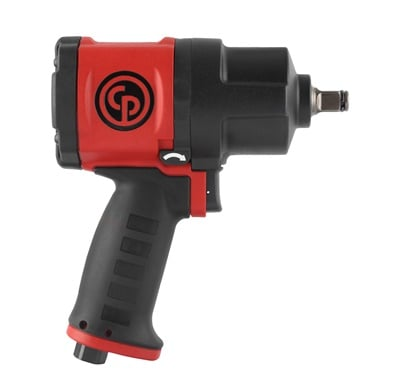 Chicago Pneumatic says its new CP7748 1/2-inch impact wrench offers vehicle service professionals power, comfort and durability and is suitable for workshop or roadside assistance tasks such as tire changing.