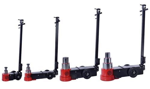 Chicago Pneumatic says the new CP85030, CP85050, CP85080 and CP85100 air hydraulic jacks enable heavy vehicle service professionals to get their job done quickly and efficiently.
