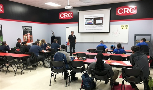 CRC Industries has partnered with Universal Technical Institute (UTI) to provide products, product training materials, and workshops to students and instructors at all UTI locations.
