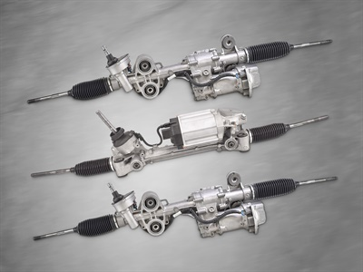 CRP Automotive says AAE electric power steering racks, which are remanufactured under the Manufactured Again Certified process, are a direct replacement for failed OEM units.