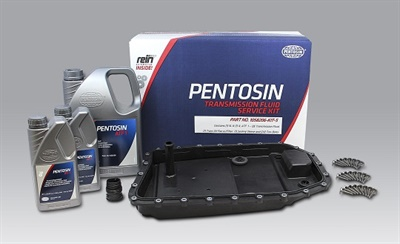Pentosin Transmission Fluid Service Kits feature OE-approved Pentosin fluid and Rein Automotive replacement parts.
