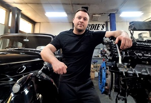 Cardone's contest winner Brett Robbins entered a video on how to change a clutch in a Mini Cooper.