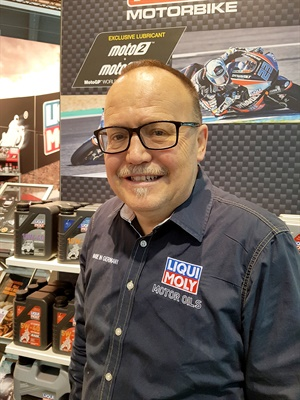 Carlos Travé joind Liqui Moly in 2014.