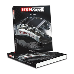 The printed 2018 StopTech High Performance Brake Systems catalog is now available.