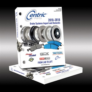 Centric Parts' 2018 catalog won the Best New Catalog Award at the recent AAPEX Show. It is available in print and online.
