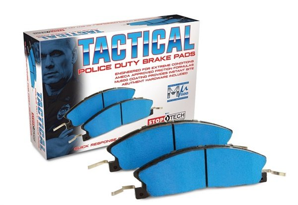 Centric Parts says the innovative, lab-developed Tactical Police Duty Brake Pads by StopTech easily meet and exceed the challenging performance requirements of the police and law enforcement equipment market.