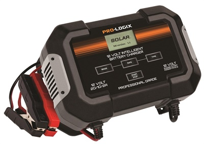 Clore says the new Pro-Logix PL2545 12-volt intelligent battery charger's advanced charging logic, robust components, quick set-up and smart display feedback mean effective and efficient charging.