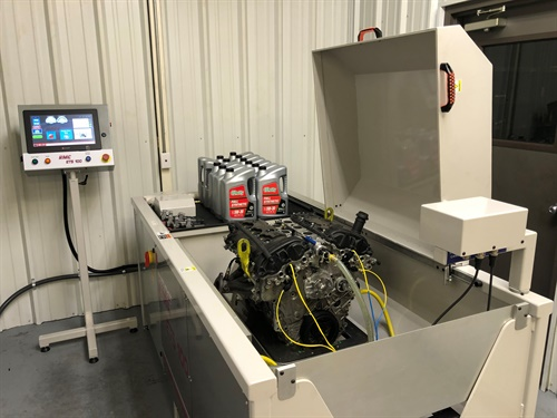Cloyes has purchased, installed, and is operating an RMC-ETS100 dynamic engine test system.