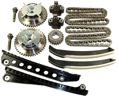 Cloyes VVT Chain Kits won top honors in the hard parts category of the New Product Showcase at AAPEX. The Cloyes timing chain VVT kit for the Ford 5.4 liter engine is shown.