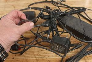 Cordless items are obviously handy, but the downside is we end up with many different chargers with wires that always seem to get tangled up.