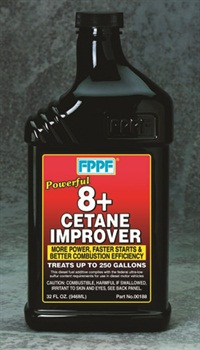 Due to the irregular and often varying levels of diesel fuel cetane, adding a bottle of cetane improver with each tank can boost engine performance back to OE specs.