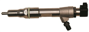 Example of the direct-injection injector for the Ford 6.4L Powerstroke engine.