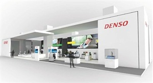 "DENSO's main exhibition will feature a future ""interactive communication cockpit."""