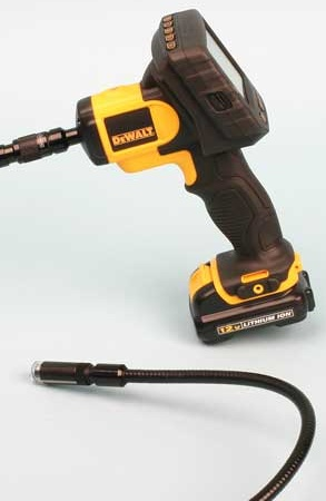 The Dewalt DCT410 model includes a 17mm camera cable, which is OK for general use, but the DCT411 features a 9mm camera cable, more suited for tighter places.
