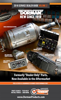 """Featured in this new guide are over 110 formerly """"dealer only"""" parts now available to the aftermarket."""