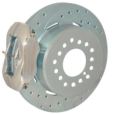 Drilled rotors also help to remove the gasses that are generated as the  pad resins are released. Think of this akin to a tire's tread that  allows the escape of water to prevent hydroplaning. In reality though,  most consumers choose slotted and/or drilled rotors due to their  high-tech appearance, often oblivious to the intended benefits.