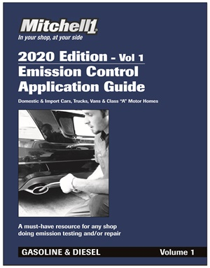 Mitchell 1's Emission Control Application Guide is a quick reference for systems, devices and components.