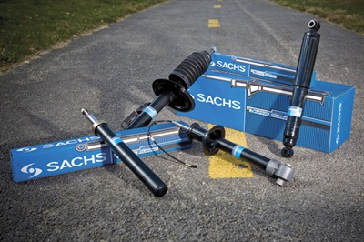 ZF Services says the Sachs brand original replacement shocks and struts are engineered to restore original dynamics while meeting the highest safety standards.
