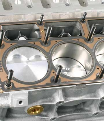 Studs, for engine applications, are available for most popular engines, especially in terms of cylinder head applications. The use of studs, as opposed to bolts, for cylinder head installation provides a more accurate and uniform clamping load pattern throughout the cylinder head.