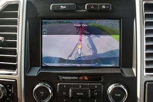 Can you service a trailer back-up assist camera system on a Ford F-150 pickup truck?