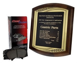 The FMSI once again honored Centric Parts as the single largest contributor to the FMSI system.
