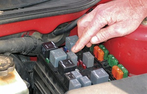 Check the fuel pump relay with key on. An audible click should be evident (placing your finger on the relay and feeling for the click is useful in a noisy shop).