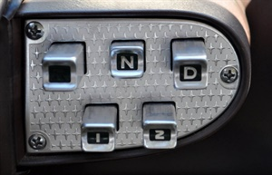 Figure 1: Remember the 1959 Dodge Royal with its push button transmission selector?
