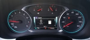 Figure 3: The 2019 Chevy Traverse is equipped with the start-stop system.