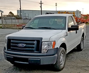 Figure 5: A 2012 Ford F-150 pickup with a problem. Courtesy of Southeast Mobile Tech