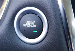 Figure 6: When in the RUN/Start mode, the green LED will light up.