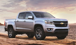 Figure 5: 2015 Chevrolet Colorado.