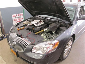 Figure 1: This 2011 Buick Lucerne had an issue with its transmission control module (TCM) that was repaired with an engine control unit (ECU) soft reset.