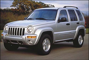Figure 1. Early Jeep Libertys can burn the PCM as a result of simply filling the gas tank due to possible static. A ground strap needs to be added to the fill neck to prevent static electricity.