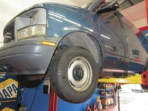 Figure 2: This GMC Safari would stall intermittently and it took months to fix.