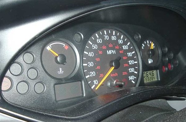 Abnormal instrument cluster operation on the Ford Focus is common.